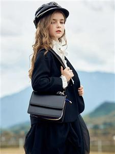 莉莉日记黑色西装外套