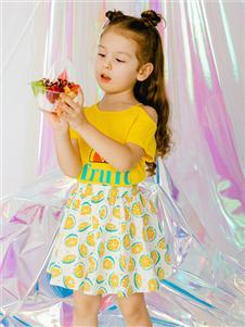 杰米兰帝童装杰米兰帝女童20夏可爱裙子