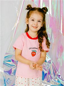 杰米兰帝童装杰米兰帝女童可爱T恤