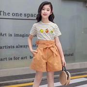 简约夏日T恤穿搭 小嗨皮打造小朋友的时尚潮流