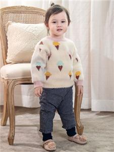 婴姿坊童装婴姿坊时尚针织衫