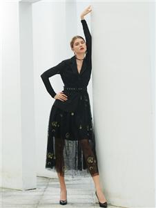 例格女装优雅套装裙