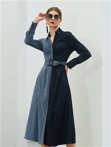 例格女装2020衬衫裙