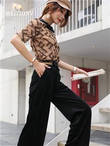 MEIZHINV魅之女2020秋装T恤