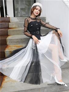 MEIZHINV魅之女2020秋装女裙