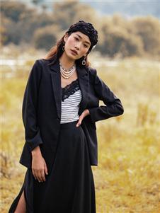 苏昔女装苏昔黑色外套