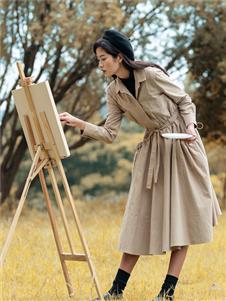 苏昔女装苏昔时尚风衣