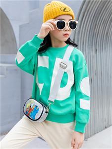 童戈绿色时尚卫衣