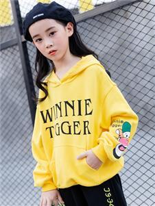童戈黄色时尚卫衣