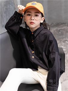 童戈新款黑色衬衫