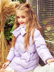 水孩儿童装女童羽绒服