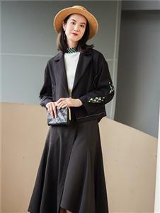 麗迪莎2020黑色長裙