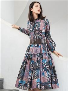 麗迪莎2020文藝格子裙