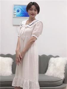 koxieli珂希莉白色长裙