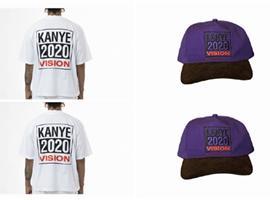 Kanye West晒出竞选周边
