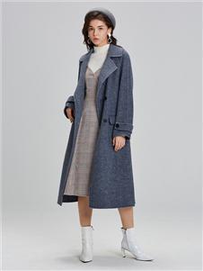 LeeMonsan抹上女裝2020秋冬新款風衣
