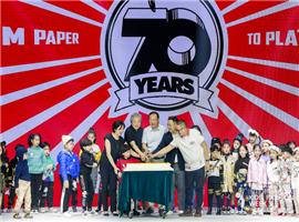 史努比温暖相伴·70周年主题派对秀登陆中国国际儿童时尚周