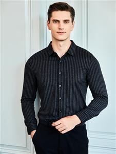 爱迪丹顿条纹衬衫