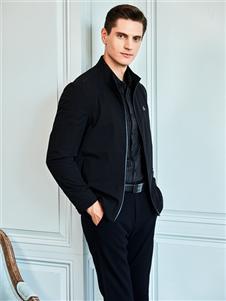 爱迪丹顿男装爱迪丹顿黑色外套