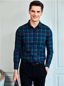 爱迪丹顿男装爱迪丹顿新款格子衬衫