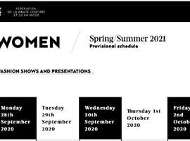 9月底开幕的巴黎时装周公布最新日程,7个中国设计师品牌参与