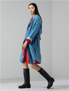 日播女装日播女装2020秋冬装外套