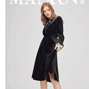 麦寻MAIXUN   早秋第一条仙裙,应该是丝绒的