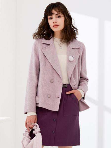 珂思时尚短款大衣