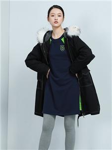 布卡拉女裝2020秋冬裝棉服