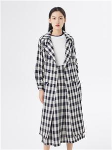 布卡拉女裝2020秋冬裝大衣