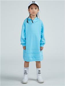一度童装中长款卫衣
