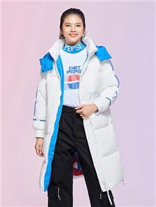 艾莱依女装艾莱依羽绒服2020秋冬装羽绒服