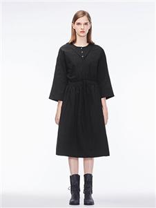 圣迪奥女装2020秋冬装连衣裙