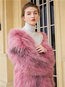金蝶茜妮冬装新款毛绒外套