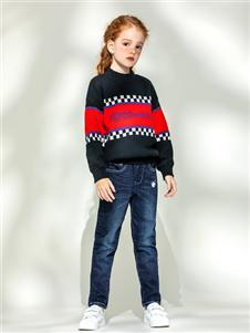 小猪班纳童装女童毛衣