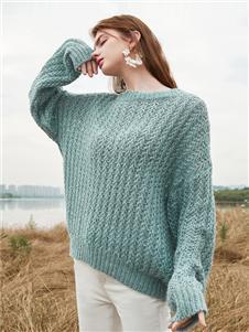 蓝色倾情女装蓝色倾情女装2020新款毛衣