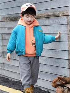 玛玛米雅男童羽绒服