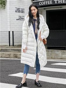 维莎曼女装秋冬装羽绒服