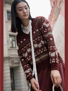 曼娅奴女装秋冬款毛衣