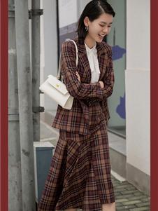 曼娅奴女装秋冬款外套