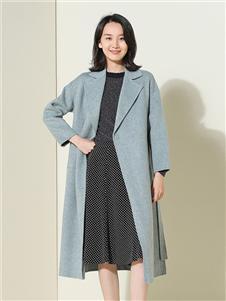 茜纳女装秋冬装大衣
