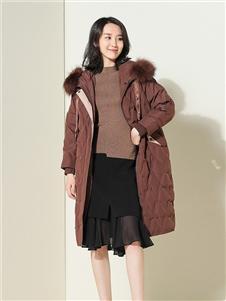 茜纳女装秋冬装棉服