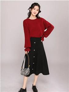 韩依瑞新款半身裙