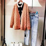 针织外套穿搭怎么好看?芝麻e柜简单穿出时髦感