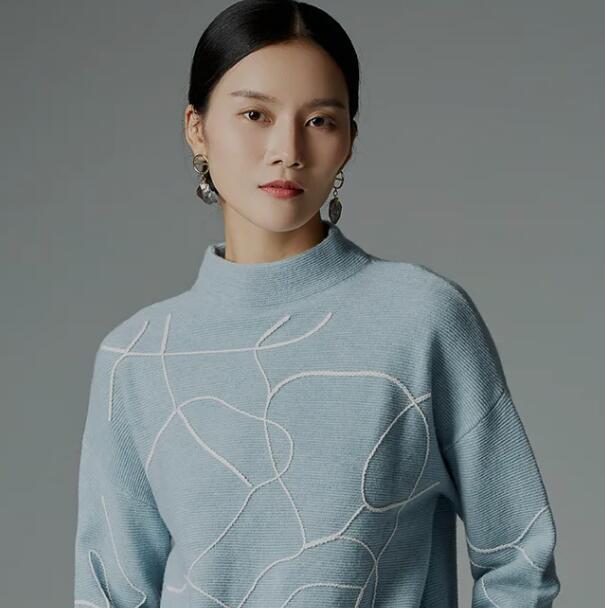 BBLLUUEE 粉蓝时尚:静如素雪,美若清月