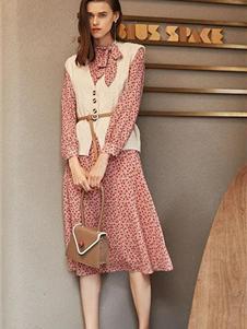 如缤女装秋冬款针织背心
