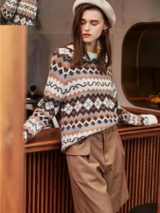 如缤女装秋冬款毛衣
