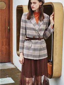 如缤女装秋冬款西装