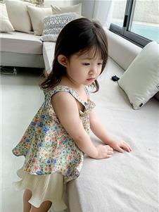 童图连衣裙