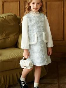 玛米玛卡童装玛米玛卡童装秋冬款针织裙